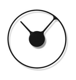 Stelton STELTON TIME WALL CLOCK 22CM BLACK
