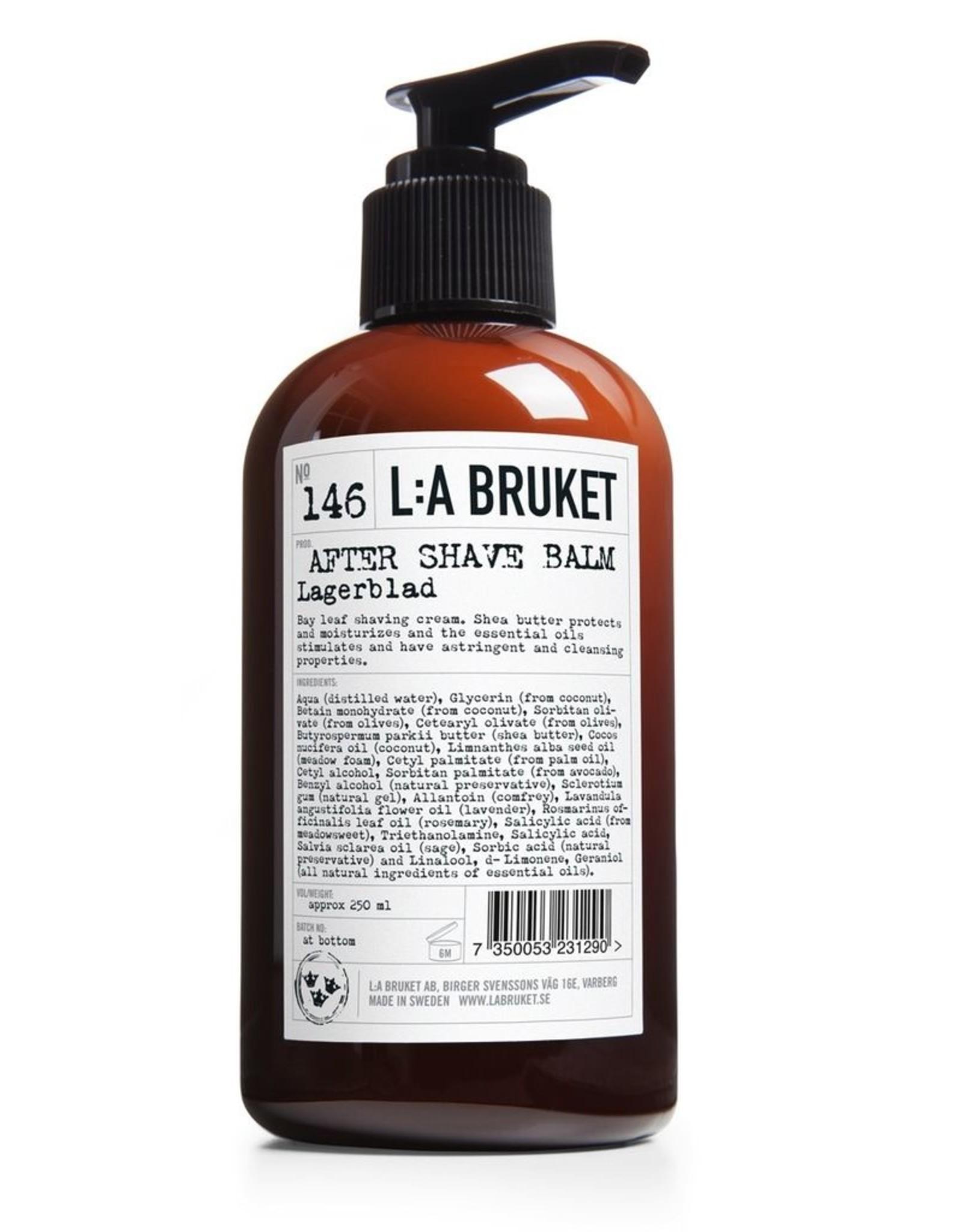 LA BRUKET L:A BRUKET AFTER SHAVE BALM 200ML N°146