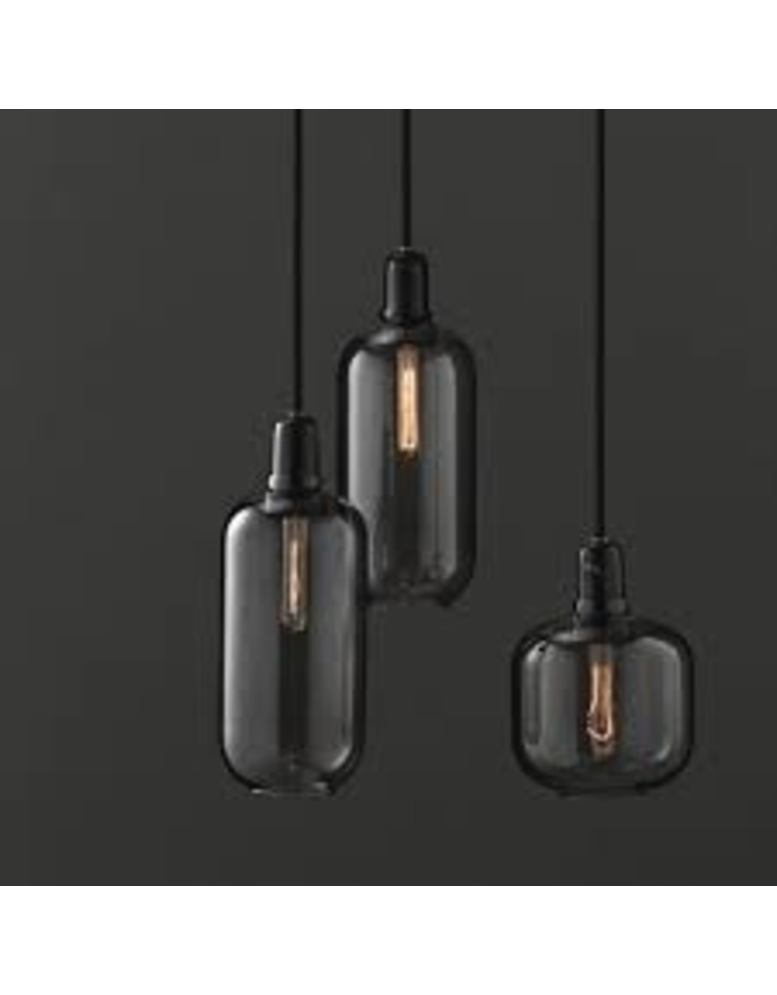 Normann Copenhagen Amp Lamp S Black