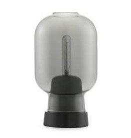 Normann Copenhagen Amp Table Lamp Smoke /Black EU