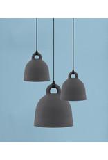 Normann Copenhagen Bell Lamp Small grey D35cm