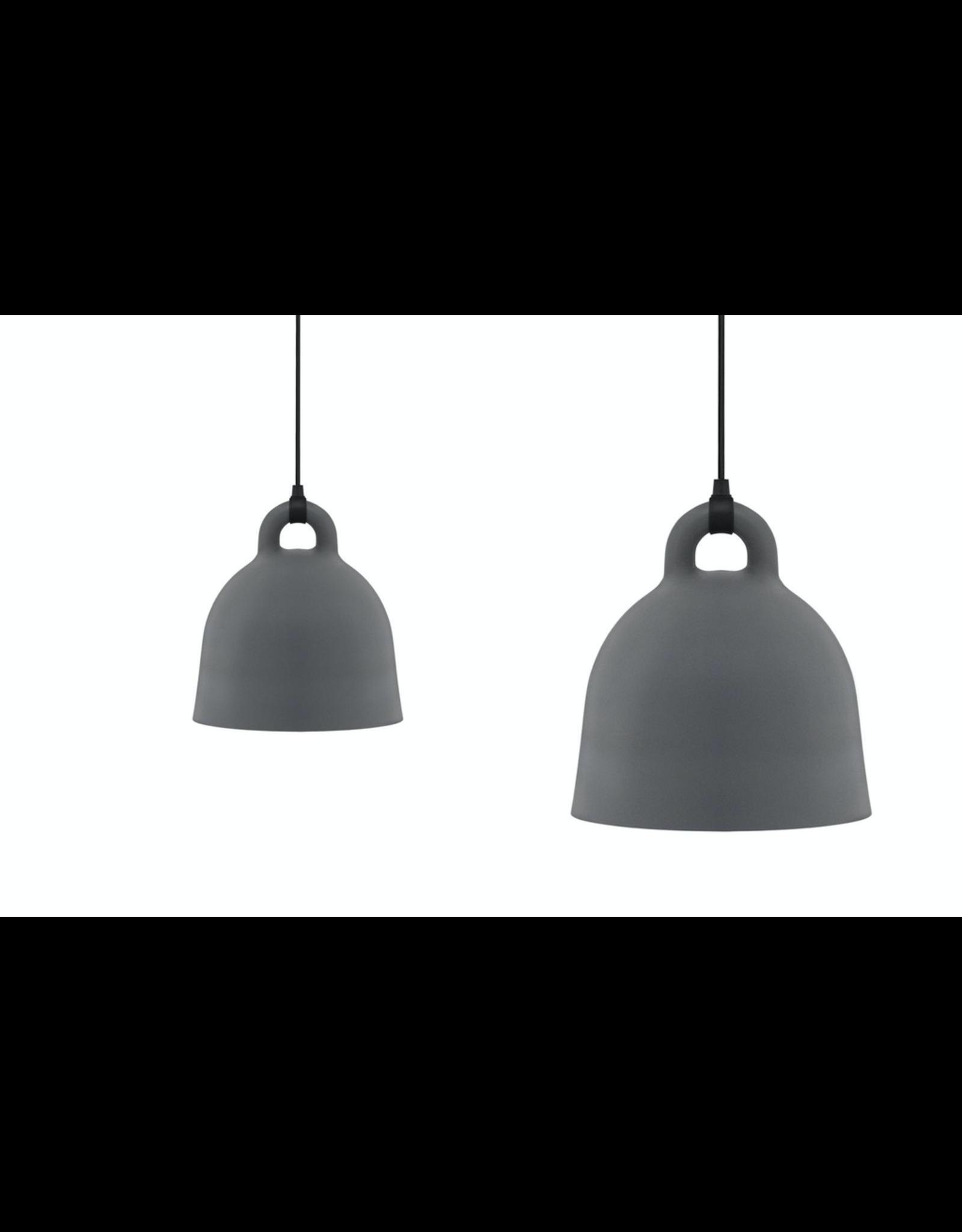 Normann Copenhagen Bell Lamp Large Grey D55cm