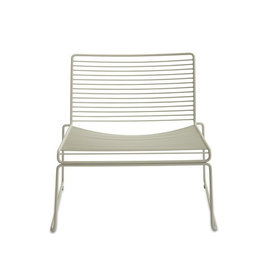 HAY Hee Lounge Chair White