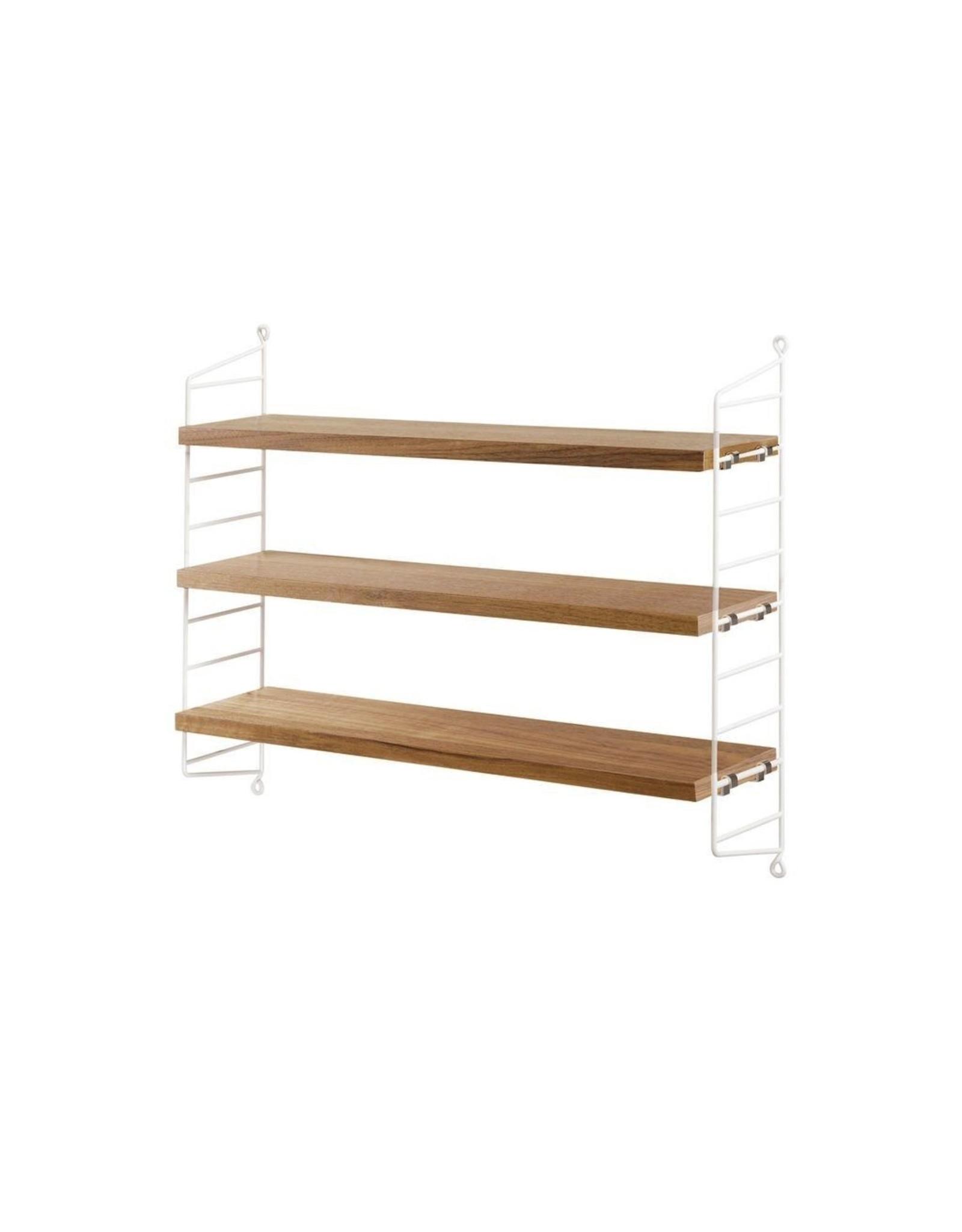 String Furniture AB STRING POCKET OAK/WHITE