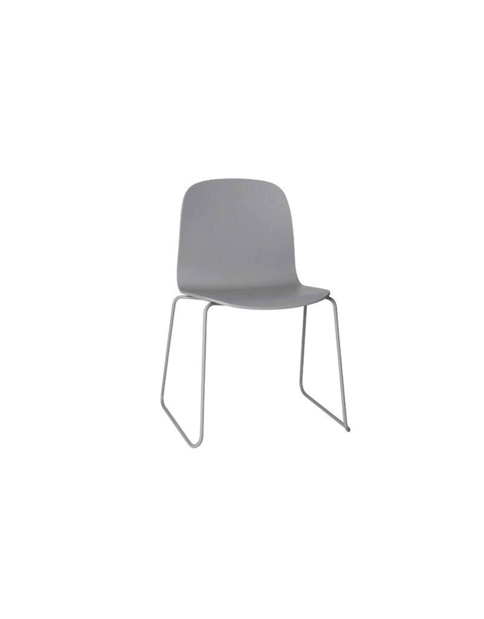 Muuto Visu Chair Sled Base Grey/Grey