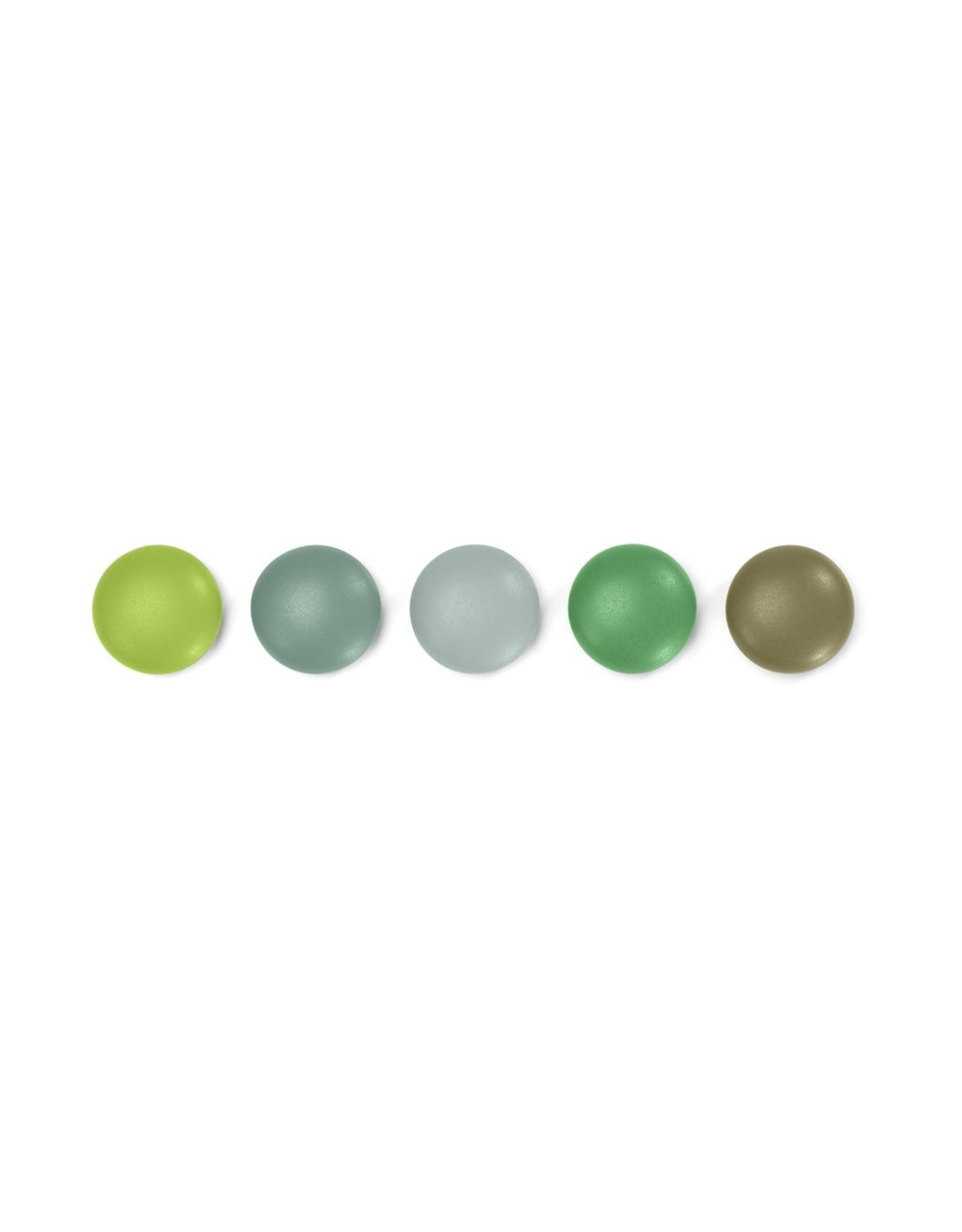 VITRA MAGNET DOT SET GREEN 5PCS