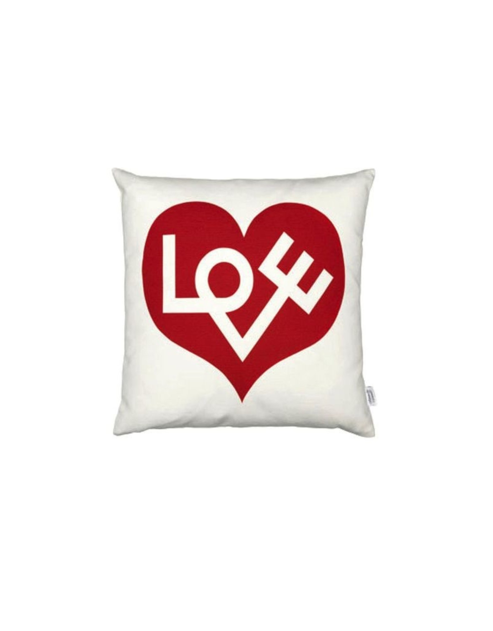 VITRA GRAPHIC PRINT PILLOWS LOVE RED