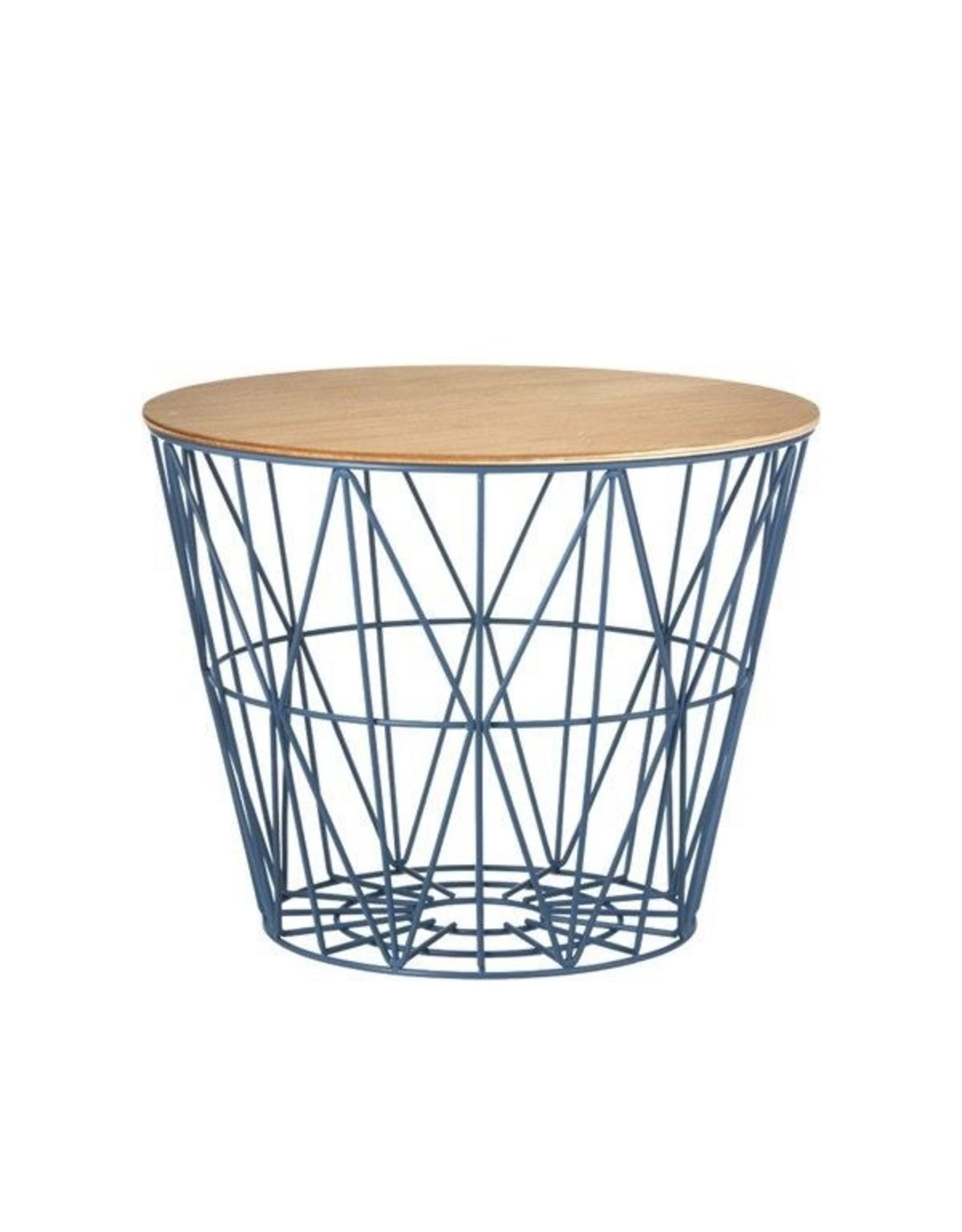 FERM LIVING Wire Basket Top large Oak