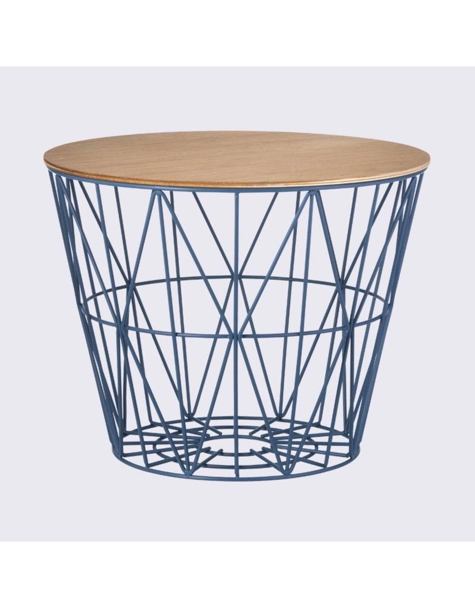 FERM LIVING Wire Basket Top medium Oak