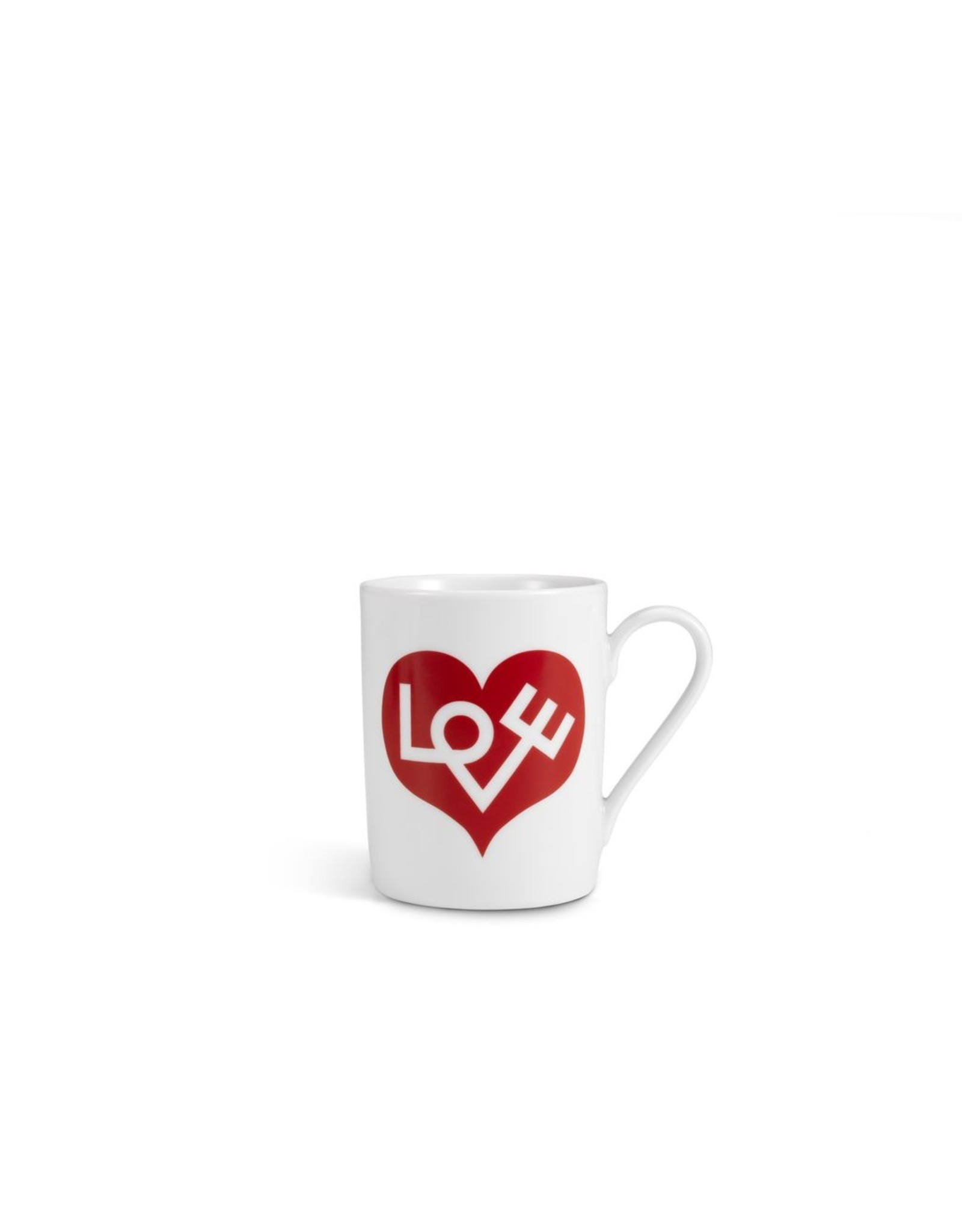 VITRA COFFEE MUG LOVE HEART RED