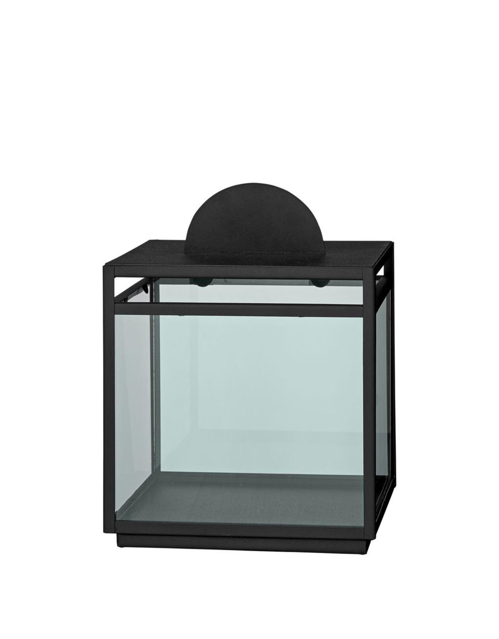 AYTM TURRIS LANTERN  IRON/GLASS