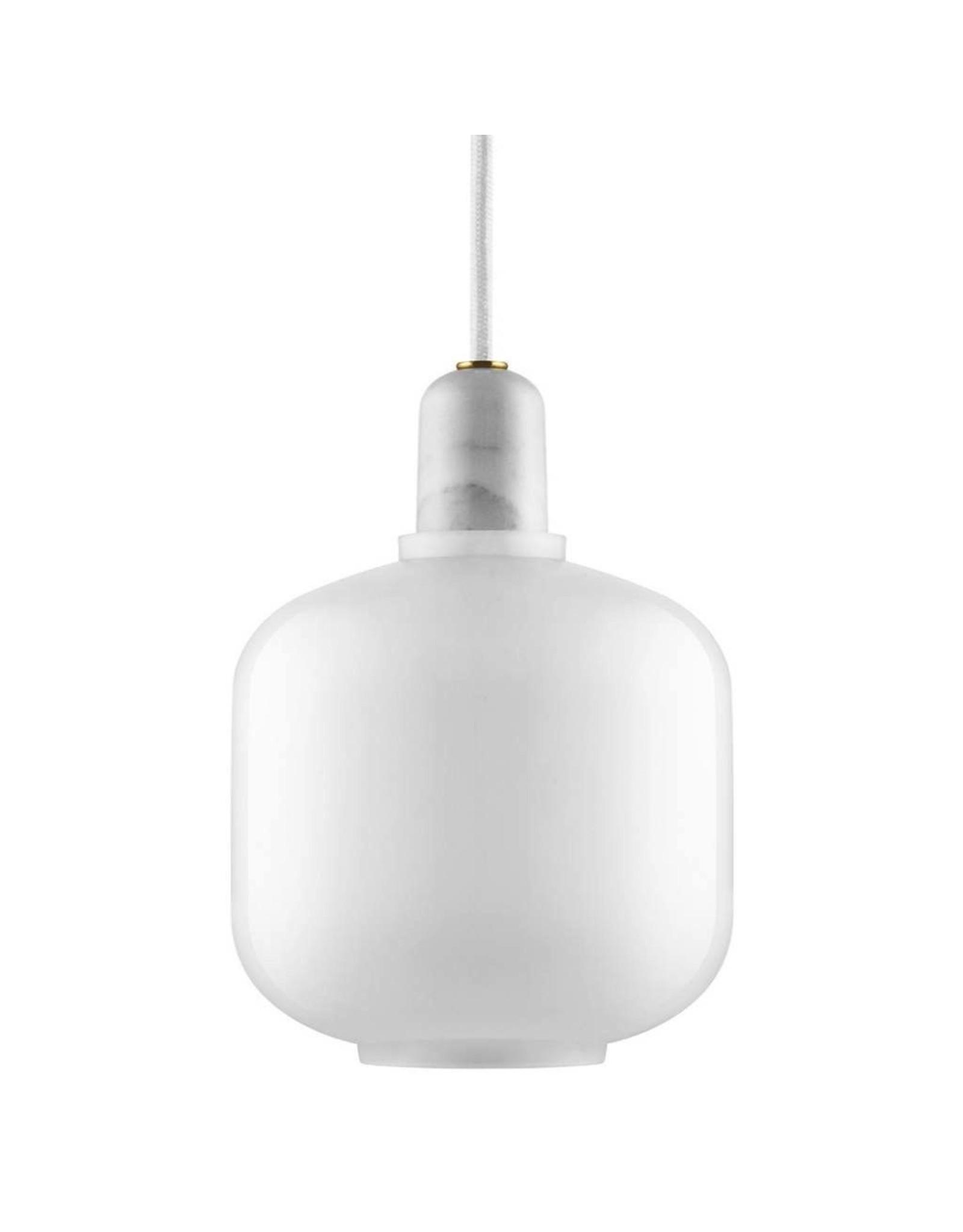 Normann Copenhagen Amp Lamp Small White/White