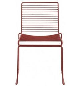 HAY Hee Dining Chair Rust