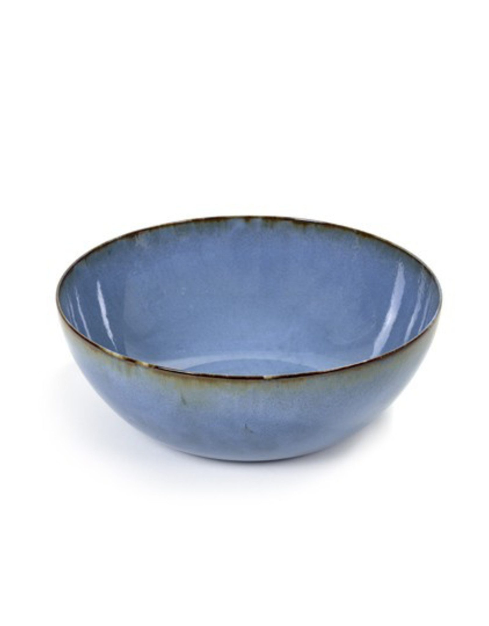Serax NV SALAD BOWL SMOKEY BLUE