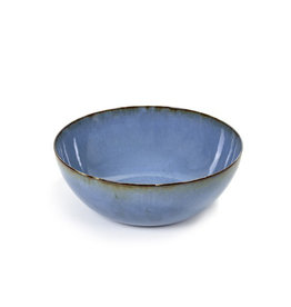 Serax NV SALAD BOWL SMOKEY BLUE