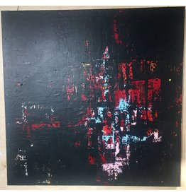 Hajp bvba Abstract Canvas Cotton 120x120cm
