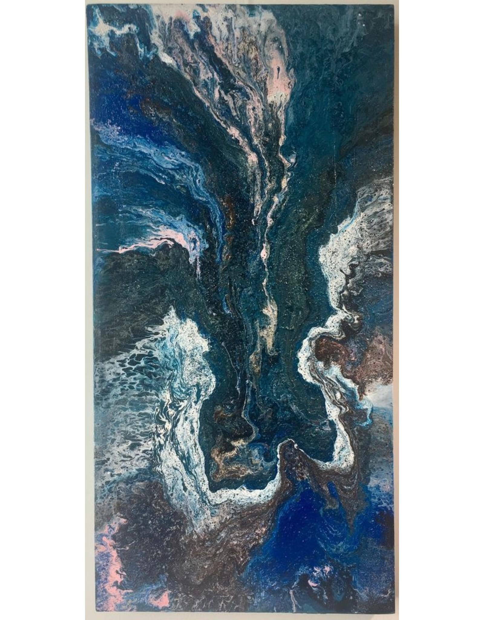 Hajp bvba Fluid Art Canvas Cotton 80x40cm
