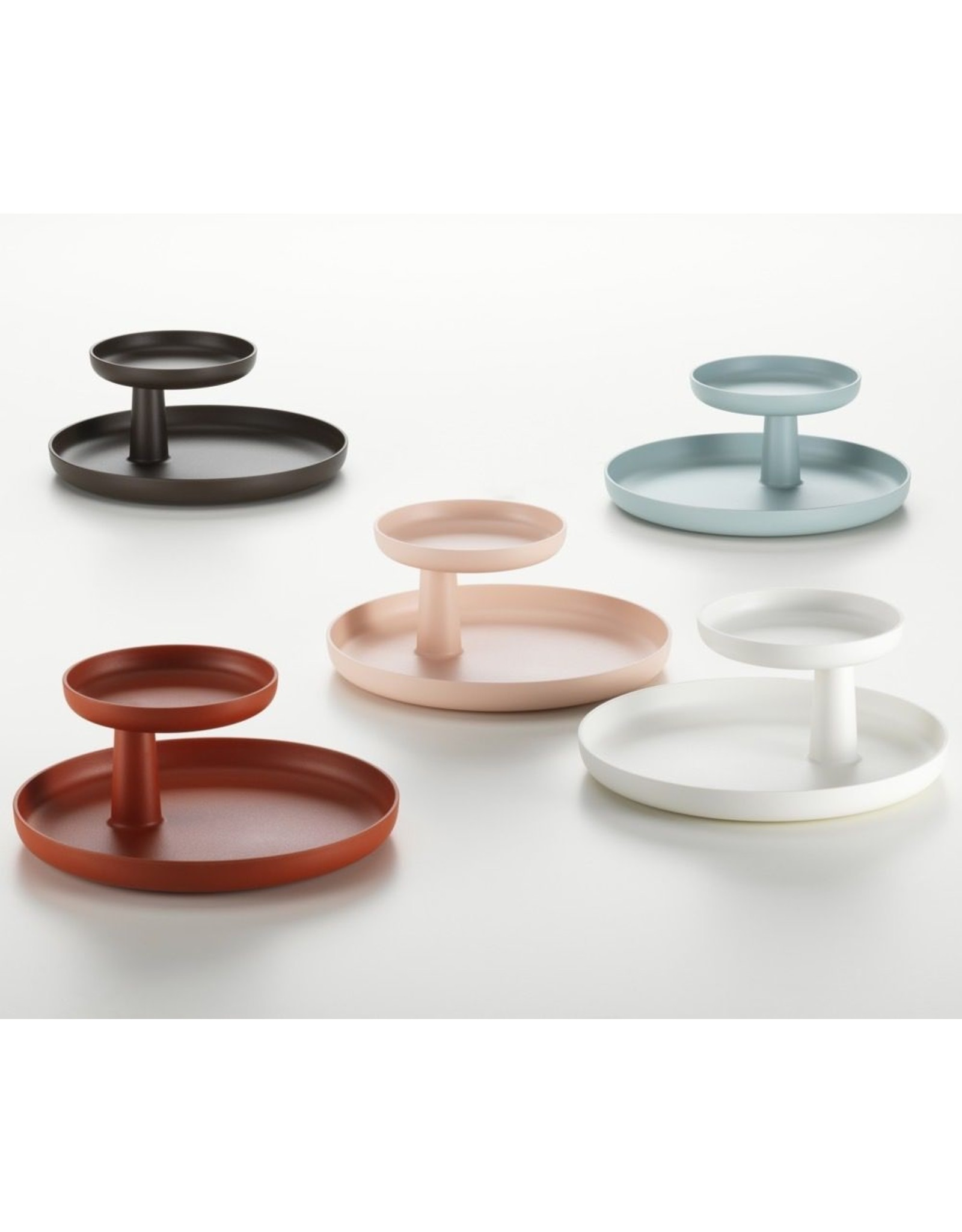 VITRA ROTARY TRAY DEEP BLACK