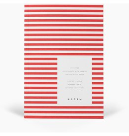 NOTEM VITA SOFTCOVER NOTEBOOK SMALL, BRIGHT RED