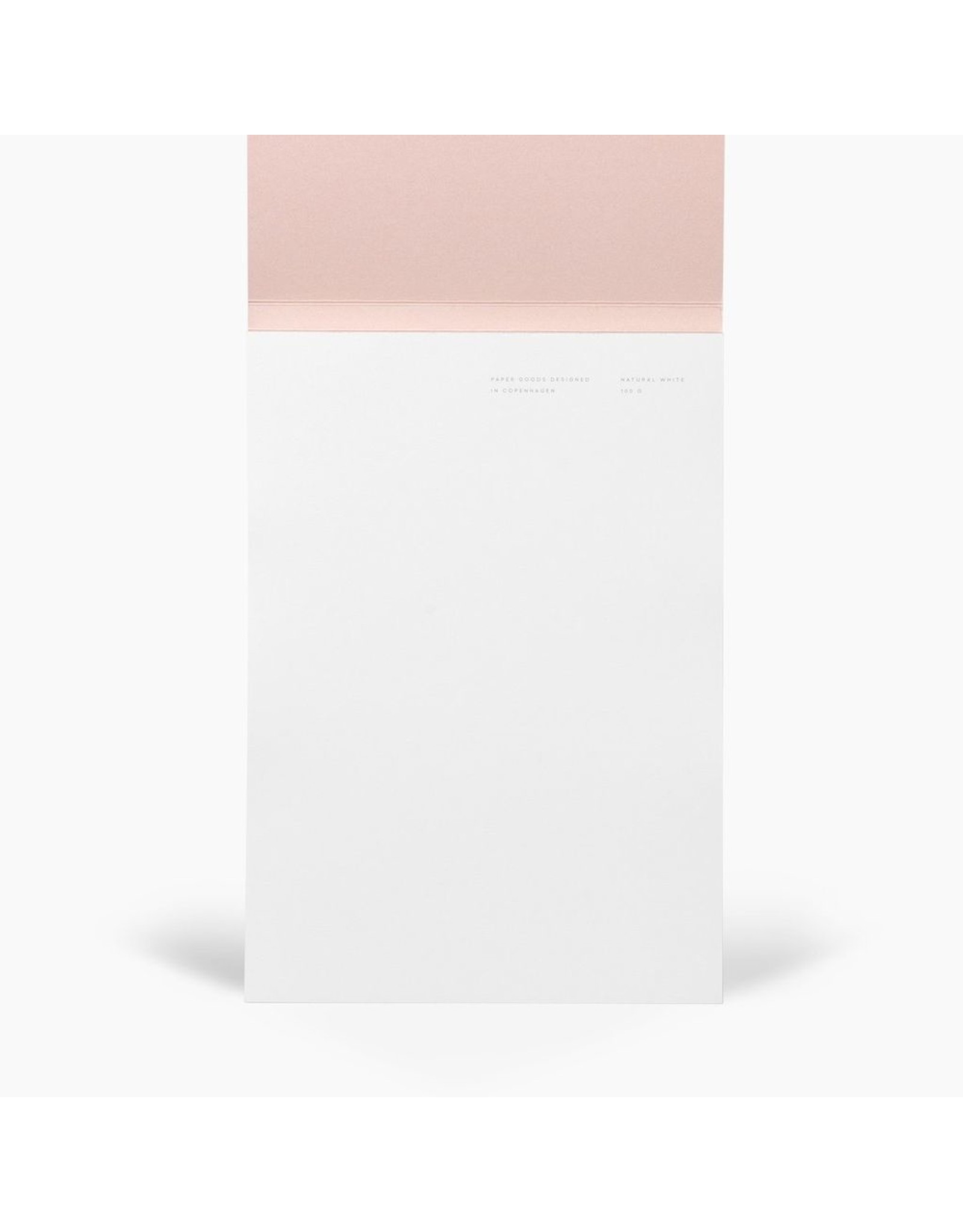 NOTEM JO NOTEPAD WITH COVER MEDIUM, RED SHAPES