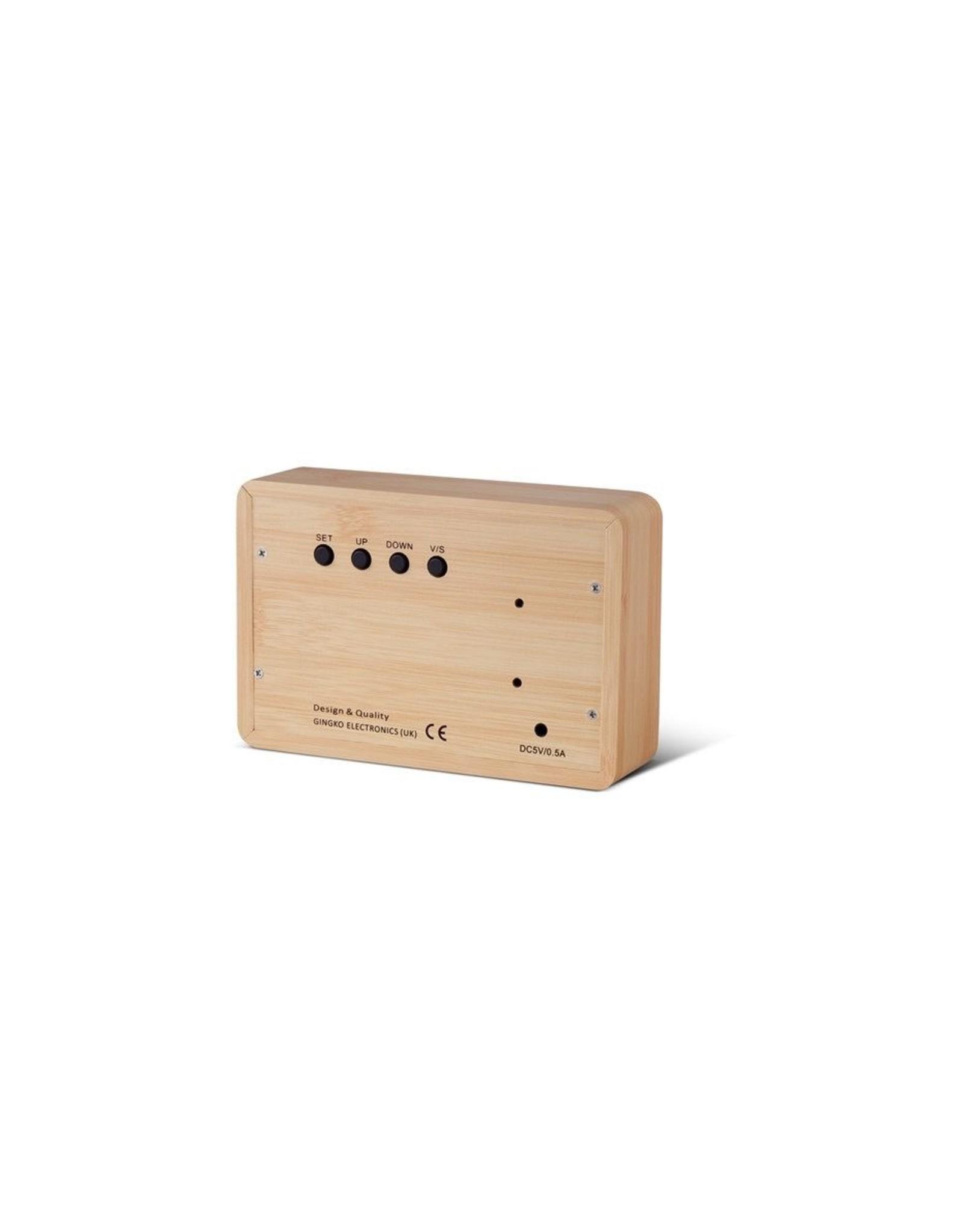 Gingko electronics LTD Brick Beech Click Clock