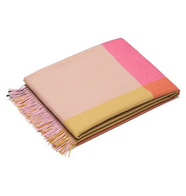 VITRA COLOUR BLOCK BLANKETS PINK-BEIGE
