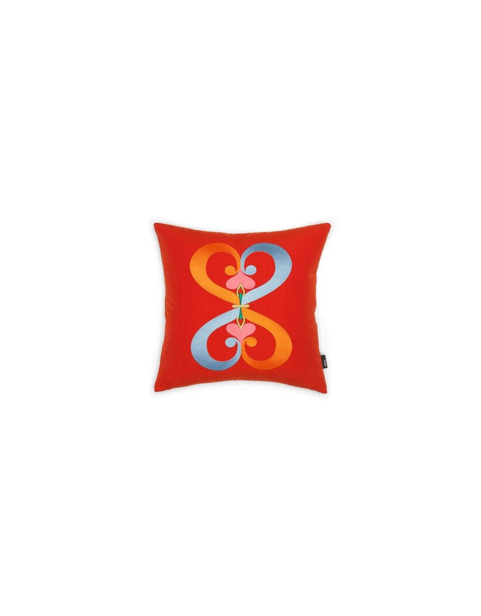 VITRA EMBROIDERED PILLOWS DOUBLE HEART