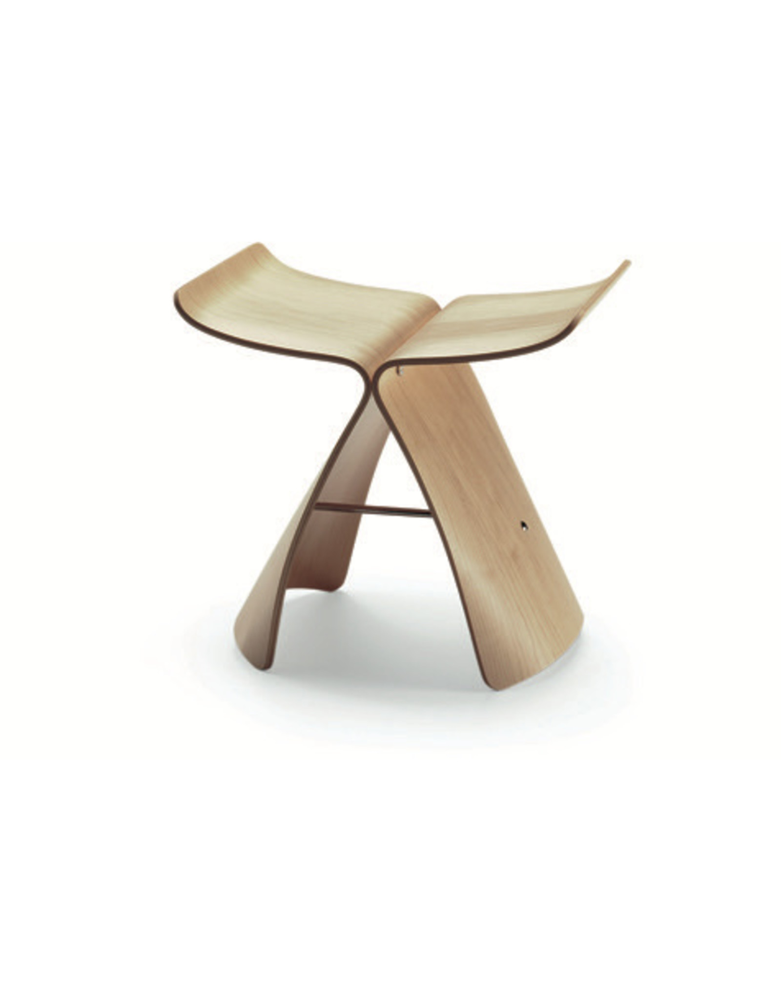 VITRA BUTTERFLY STOOL BOIS D'ERABLE