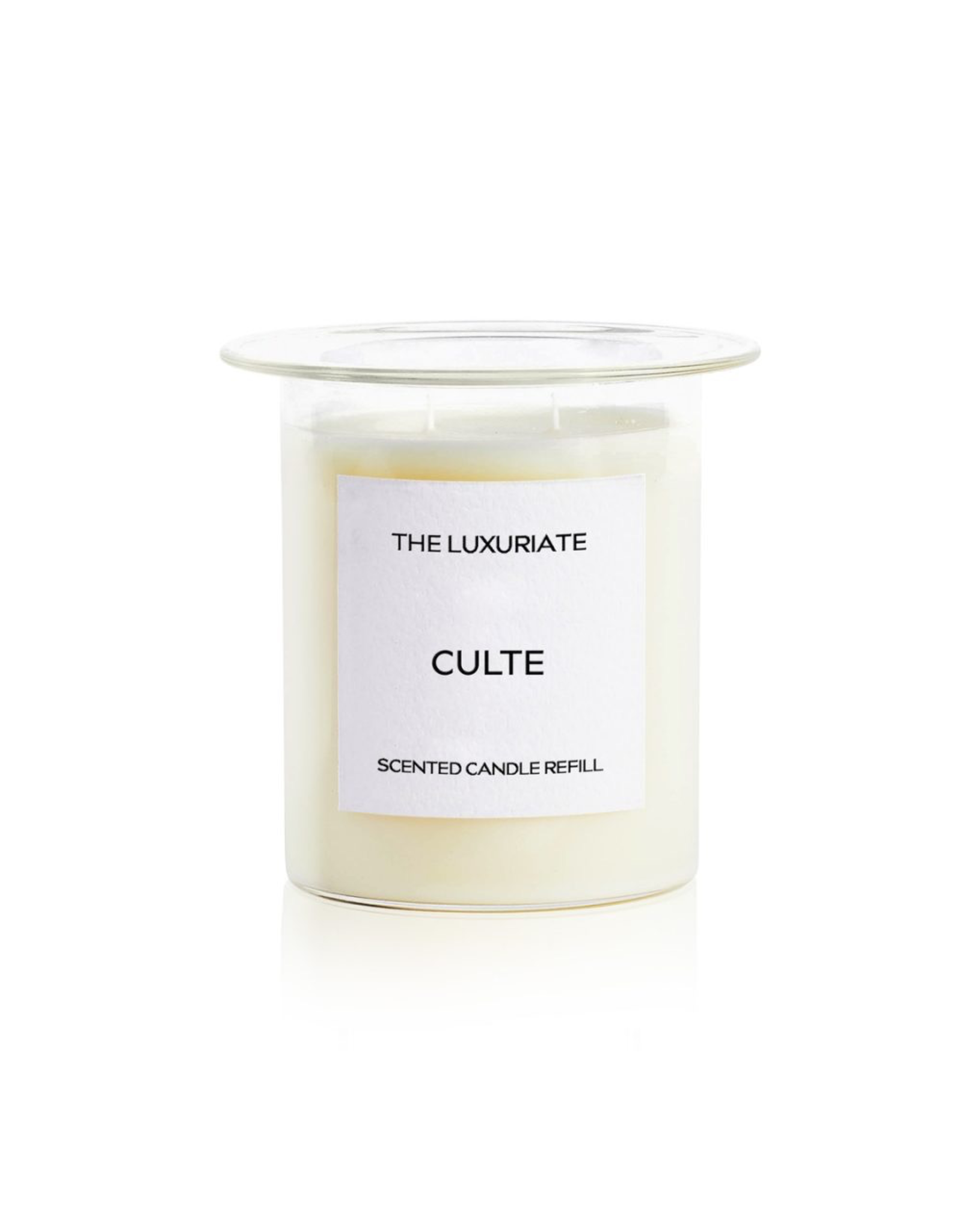 THE LUXURIATE CULTE CANDLE REFILL CLEAR