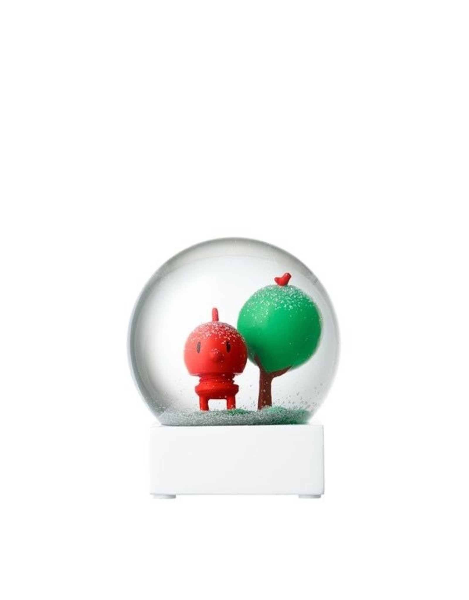 Hoptimist SNOW GLOBE RED BABY BUMBLE