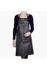 Dutchdeluxe BBQ-STYLE APRONS - VINTAGE FULL GRAIN LEATHER - VINTAGE GREY