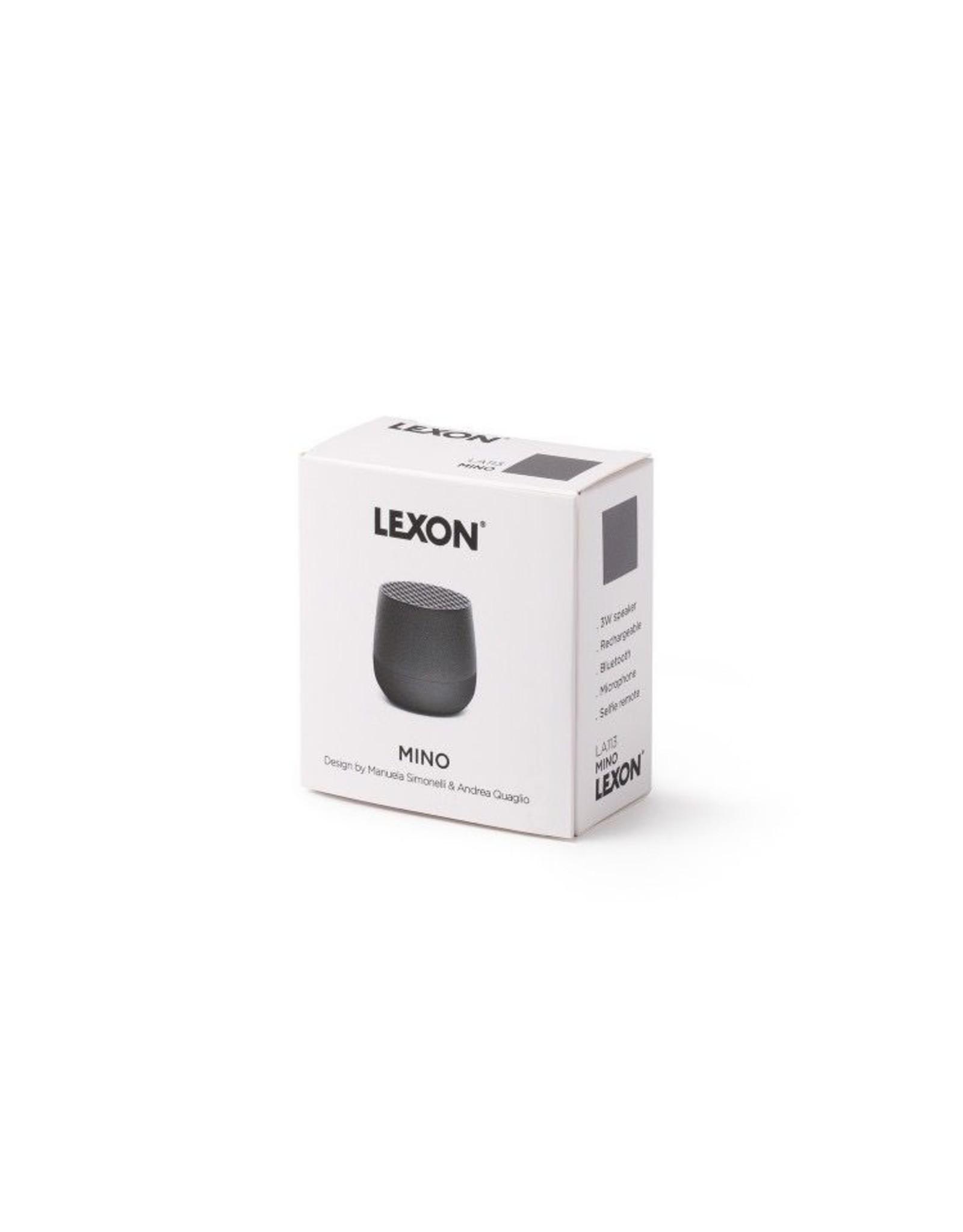PREFIX DESIGN / LEXON LEXON MINO HAUT-PARLEURS ORANGE