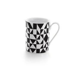 VITRA COFFEE MUG GEOMETRIC BLACK