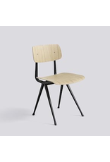 HAY RESULT CHAIR / BLACK POWDER COATED STEEL - MATT LACQUERED