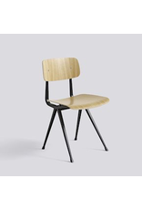 HAY RESULT CHAIR / BLACK POWDER COATED STEEL - CLEAR LACQUERED