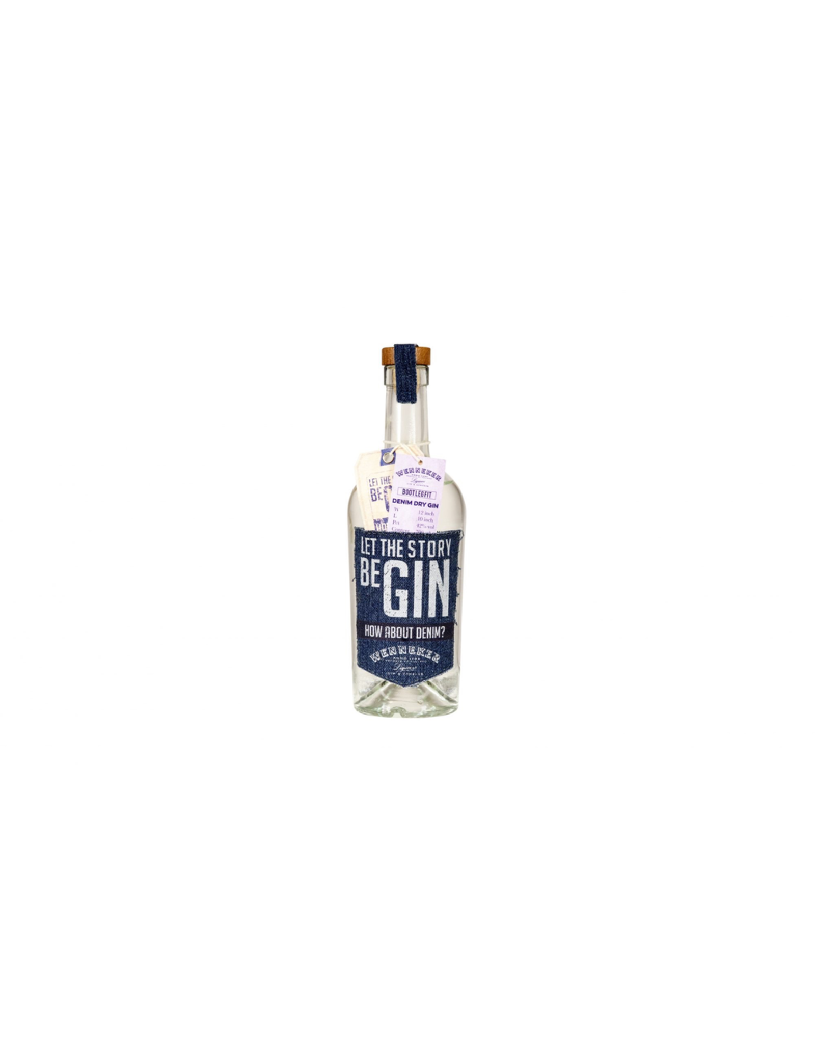 Spirits by Vanguard WENNEKER DENIM GIN 42% 0,7L