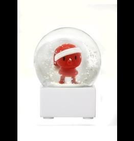 Hoptimist RED SMALL SANTA SNOW GLOBE