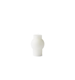 Normann Copenhagen BLOCK CANDLE DOME WHITE