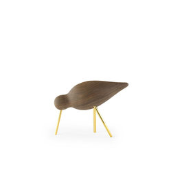 Normann Copenhagen SHOREBIRD MEDIUM WALNUT