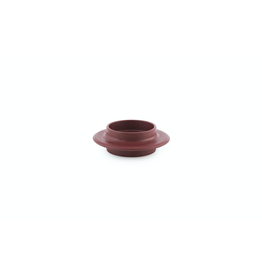 Normann Copenhagen HEIMA BLOCK CANDLE HOLDER DARK RED