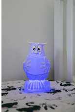 83-Vanhalst LINE THE OWL WHITE NIGHT LIGHT LUMINAIRE RECHARGE USB
