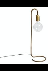 H. Skjalm P. LAMP 65CM. FOIR LARGE BULB, RAW BRASS