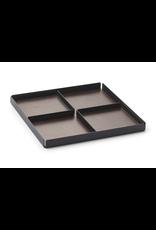 NAV Scandinavia POCKETS REST Organiser tray 3pcs set - Black/Brown