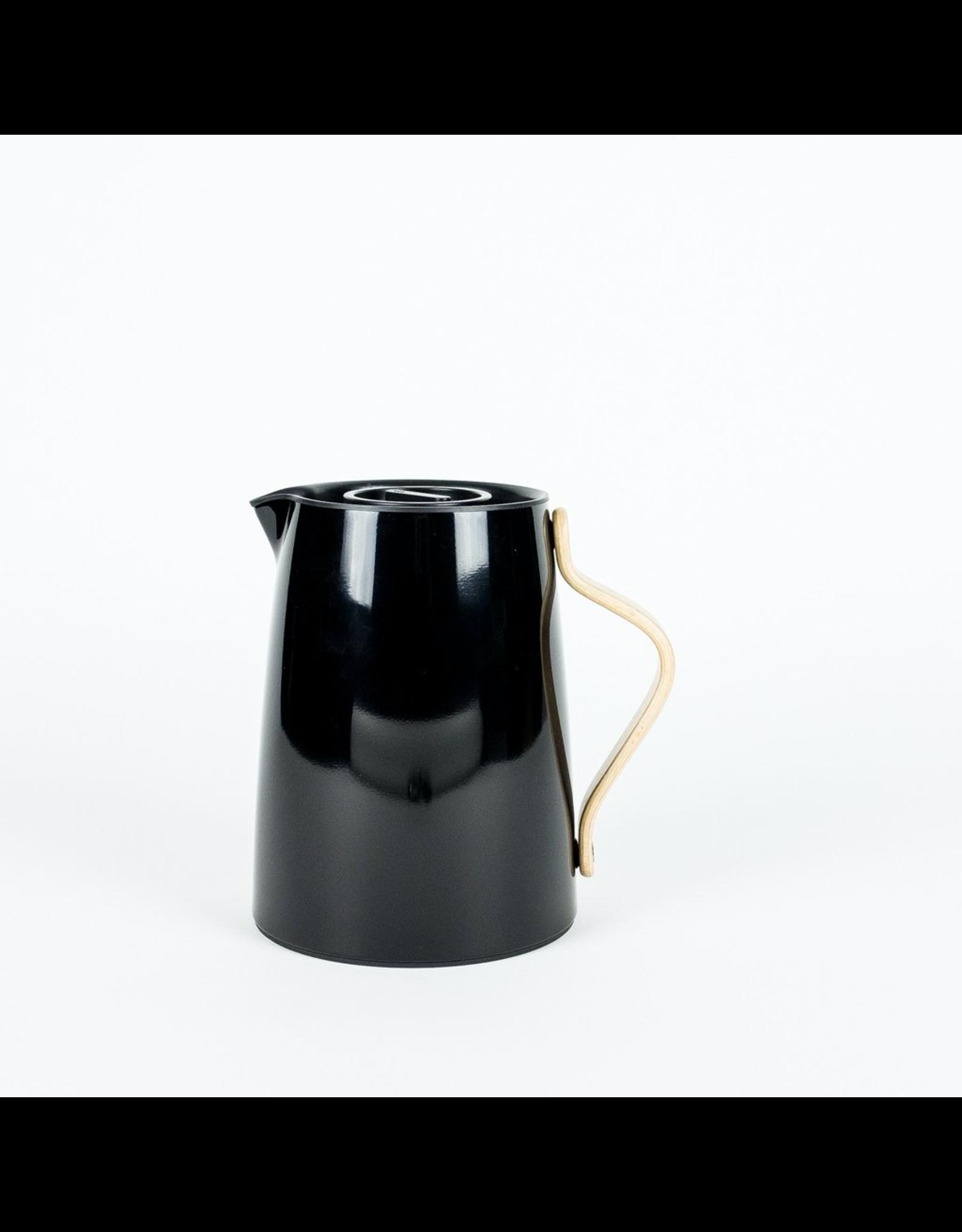 Stelton STELTON EMMA VACUUM JUG TEA 1L BLACK