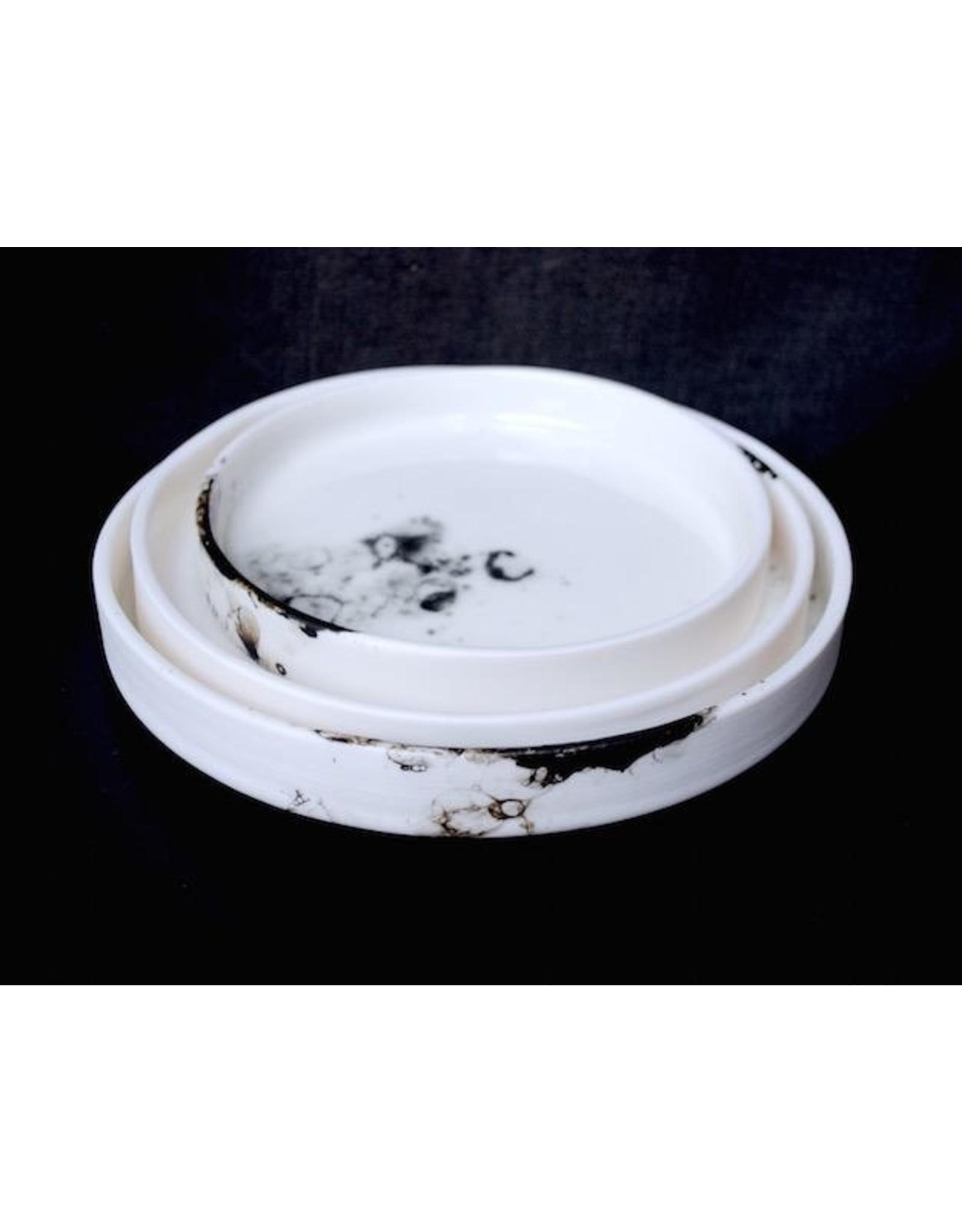 Porcelain Art Studio BONNY (SERVEER)SCHAAL / BORD M D19XH2,5