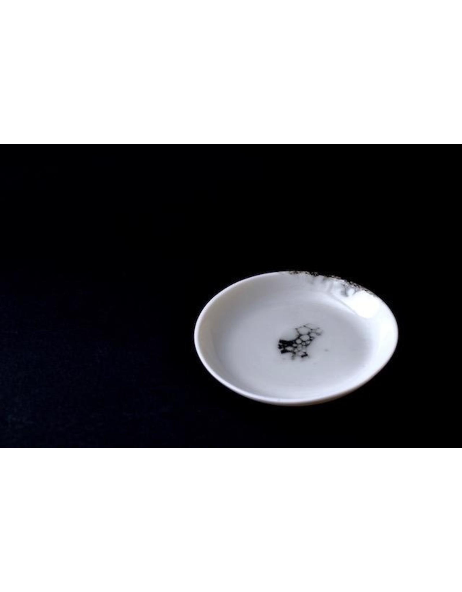 Porcelain Art Studio PLAQUE BONNY D10,5XH1,5
