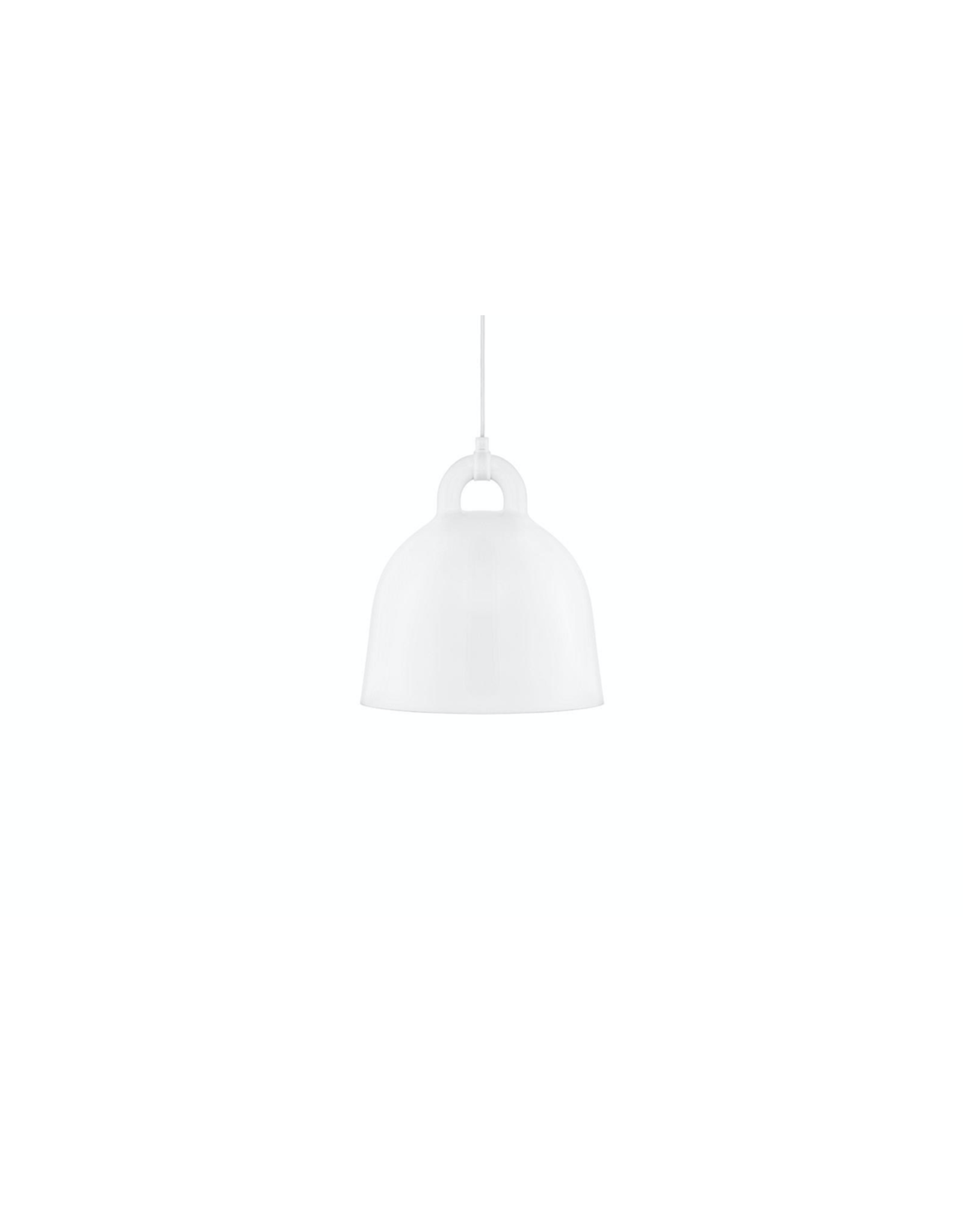 Bell Lamp Small White D35cm