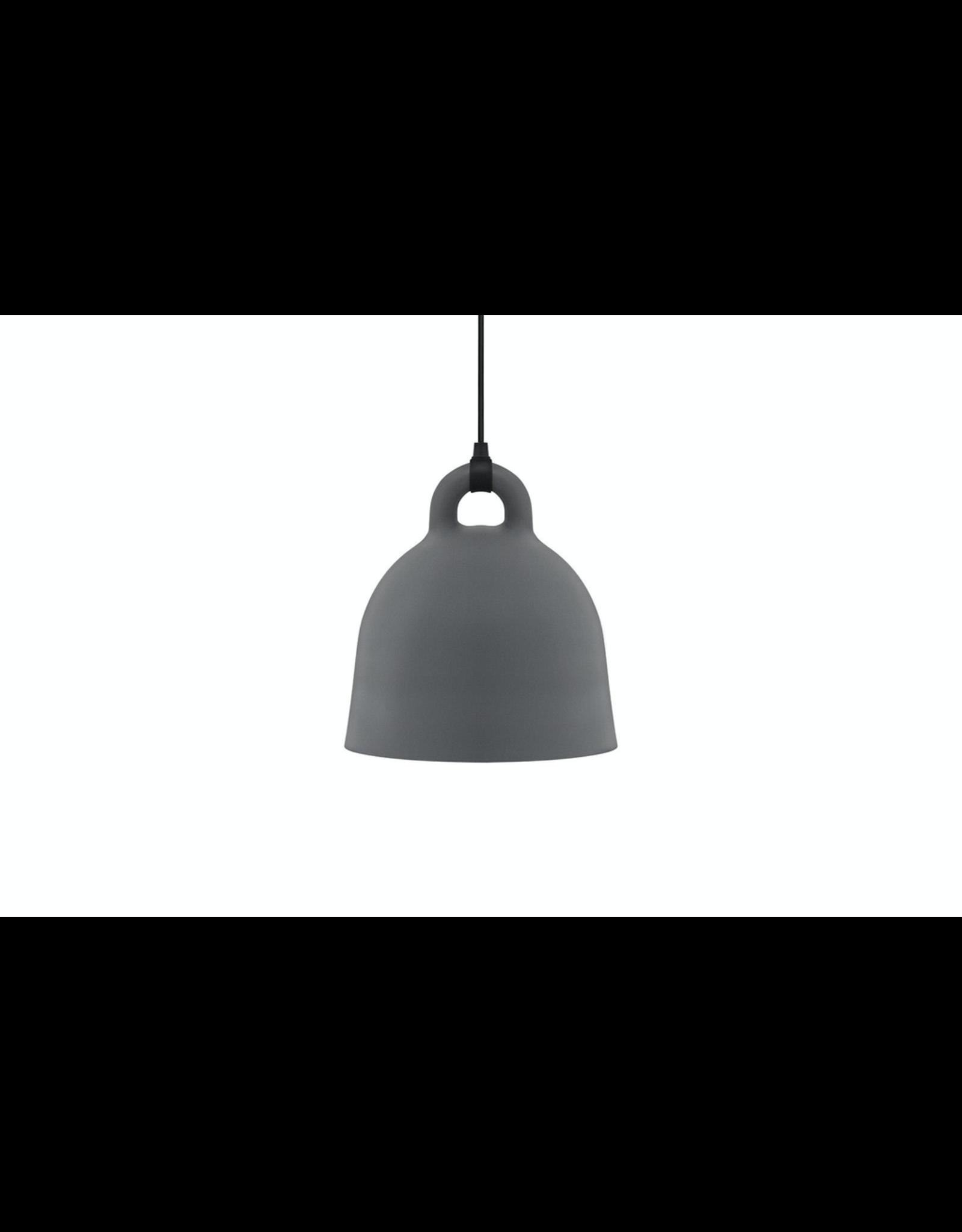 Normann Copenhagen Bell Lamp Medium Grey D42cm