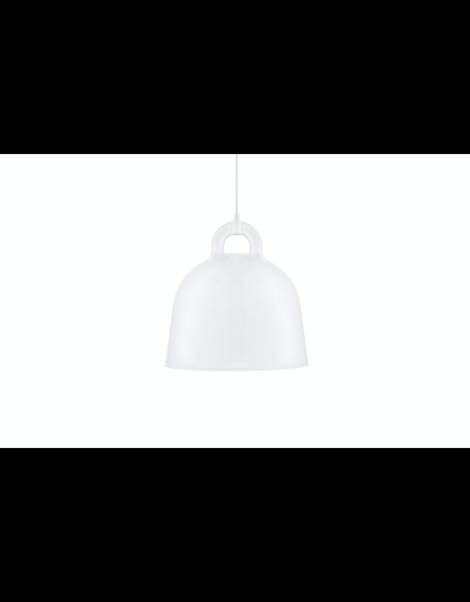 Bell Lamp Medium White D42cm