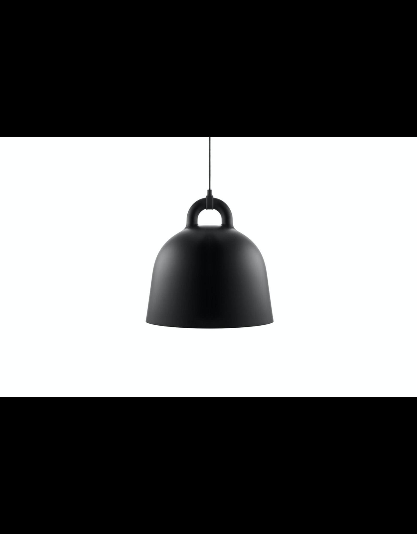 Bell Lamp Medium Black D42cm